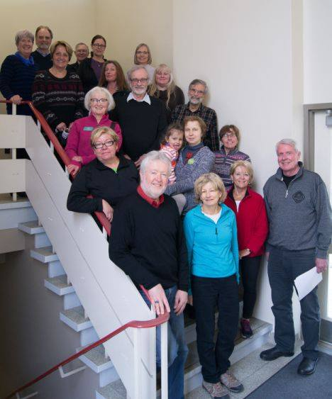 2016 AGM Executive and Support