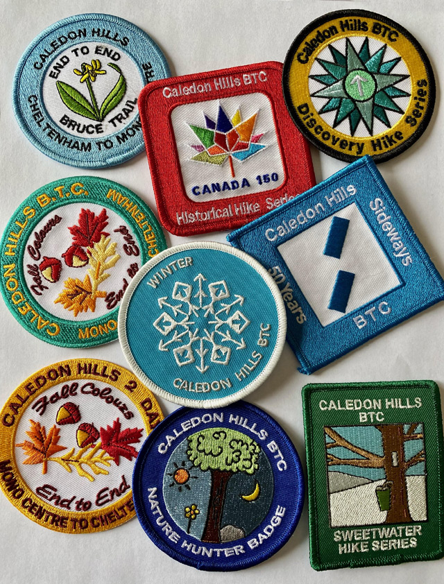 Caledon Hills Badges!